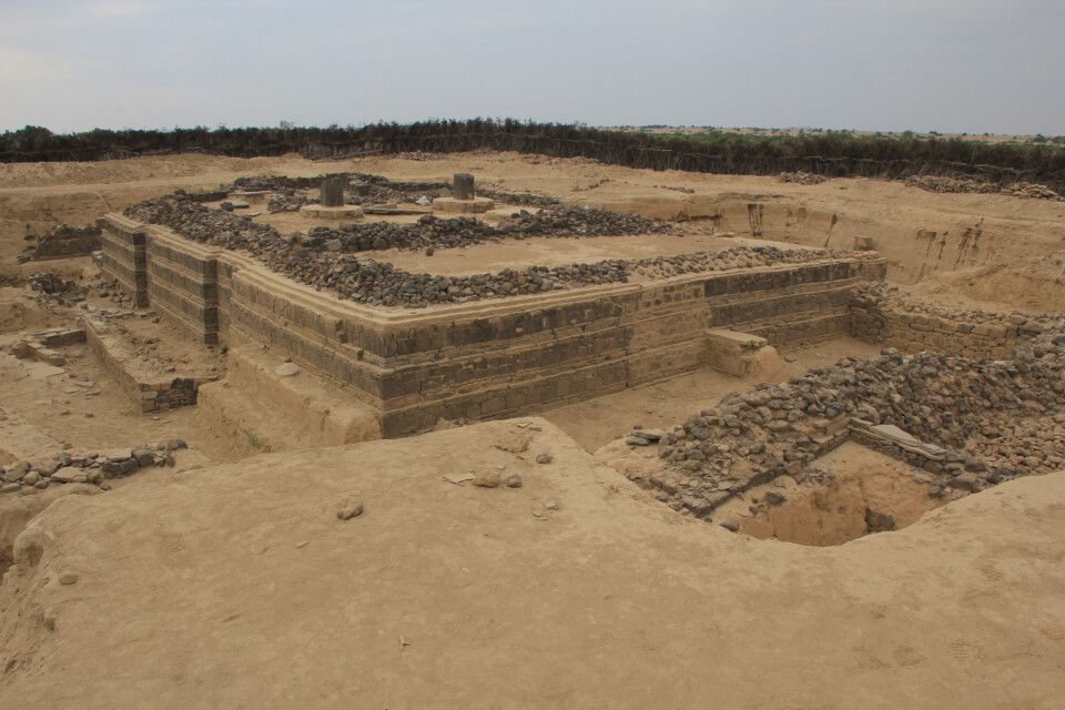 Kirche aus dem 3. Jh. n. Chr. in Adulis