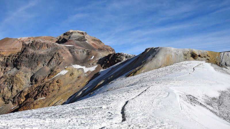 Aufstieg über den Gletscher am Iztaccihuatl © Diamir
