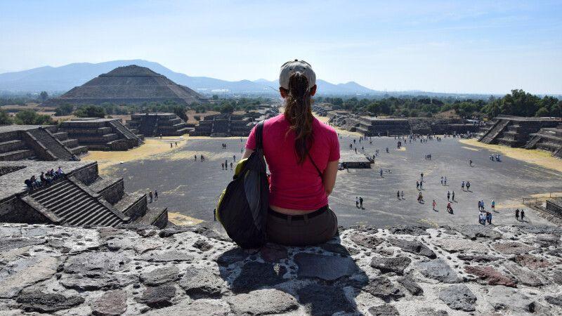 Kultur pur erleben in der Tempelstadt Teotihuacan © Diamir