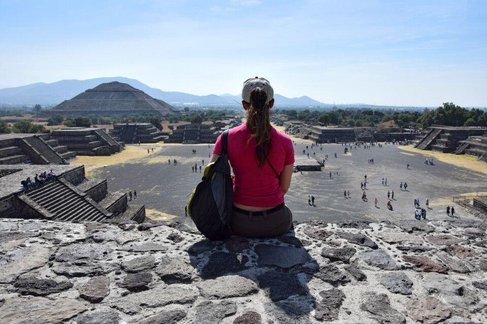 Kultur pur erleben in der Tempelstadt Teotihuacan
