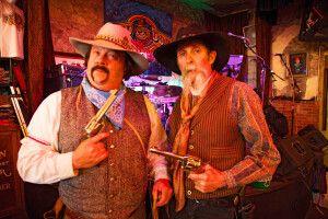 Cowboy-Darsteller, Virginia City, Nevada