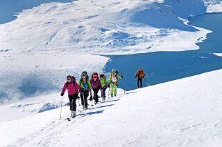 Skitouren zu einsamen Gipfeln