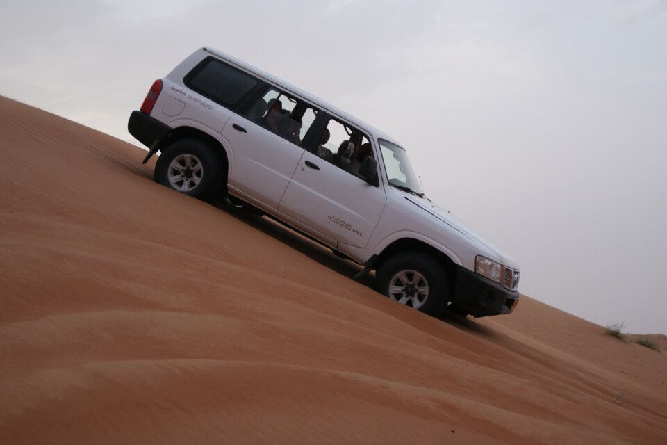 Dünenfahrt - macht Spaß das Sand Bashing