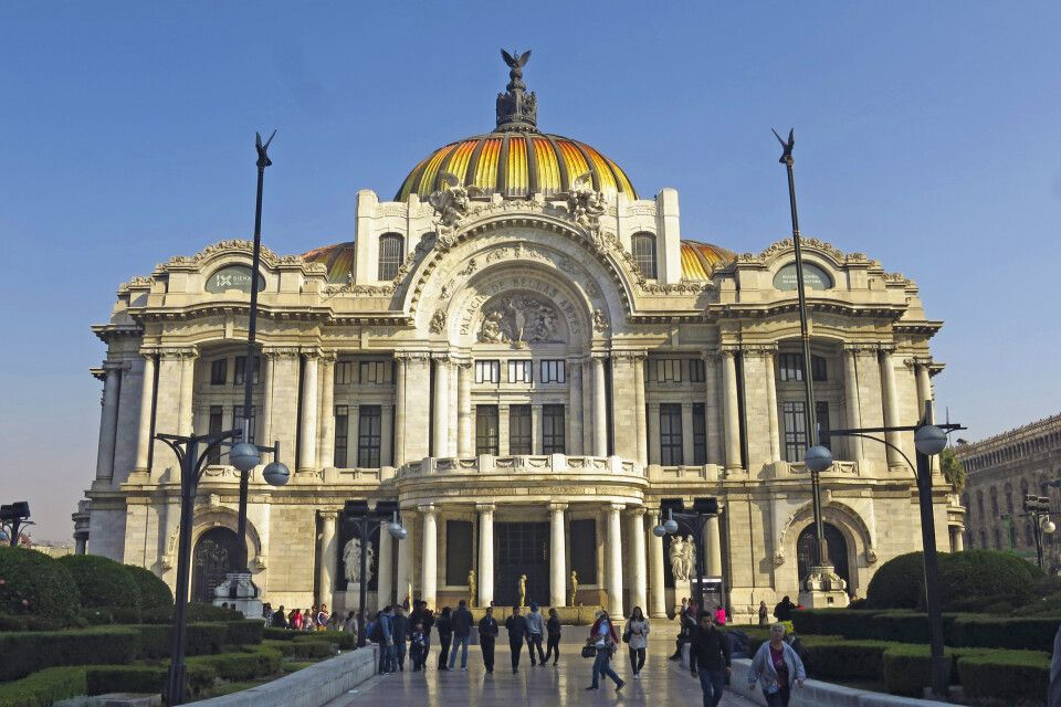 Das Opernhaus von Mexiko-Stadt – der Palacio de Bellas Artes