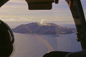 Helikopterflug nach White Island