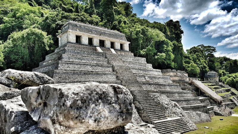Tempel der Inschriften in Palenque © Diamir