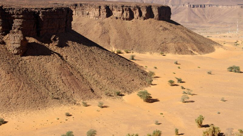 Tafelberge vor Atar © Diamir