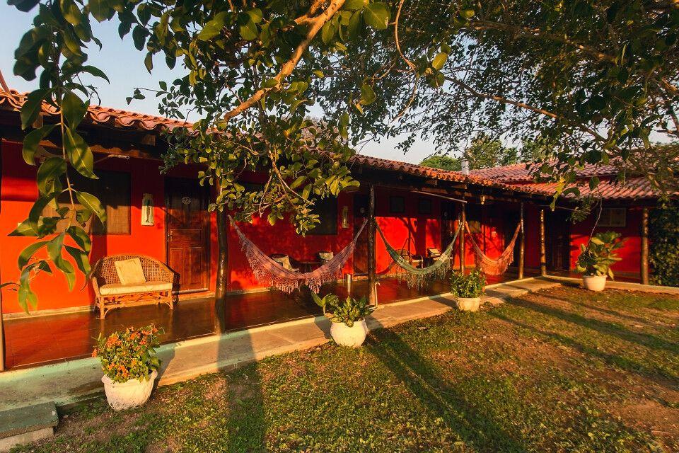 In warmes Licht getaucht: die Southwild Pantanal Lodge