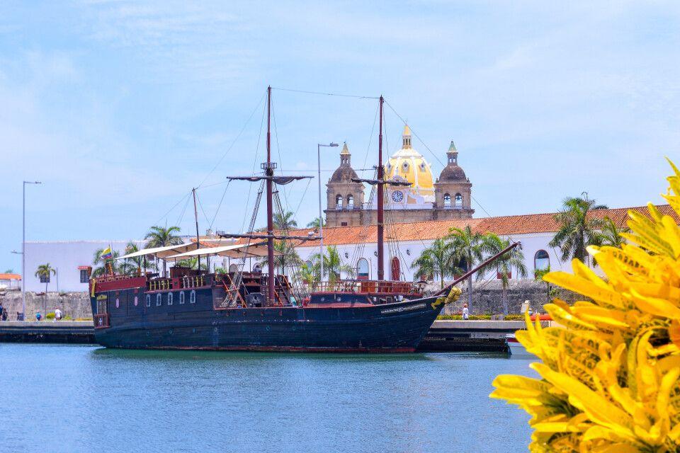 Aussicht über Cartagena