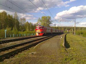 Zug durch Sibirien