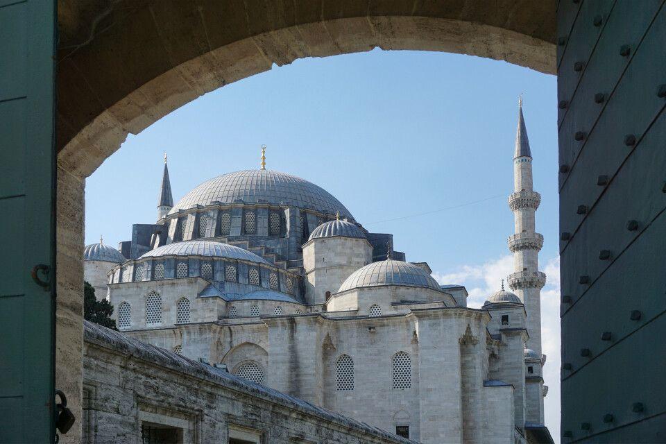 Kuppeldächer in Istanbul