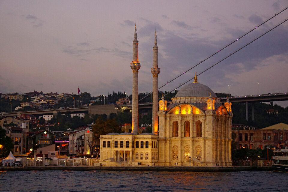 Blick auf den Istanbuler Stadtteil Beşiktaş