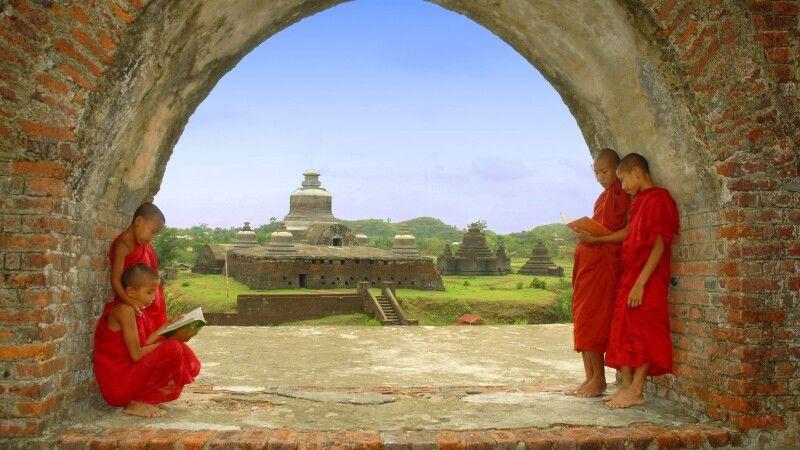 Dukanthein Paya in Mrauk U im Rakhine-Staat © Diamir