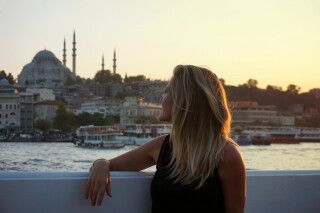 Der Bosporus eröffnet wunderschöne Perspektiven auf das kulturelle Erbe