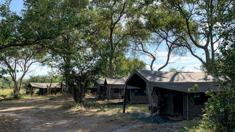 Letakas exklusives Mobile Camp, Khwai Community Area, Okavango-Delta, Botswana © Diamir