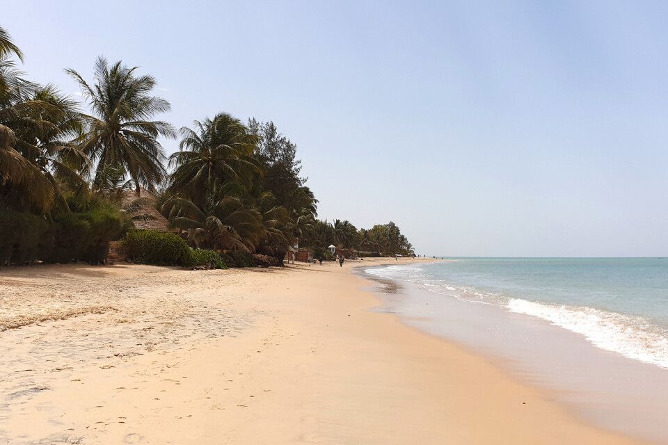 Strand in Saly