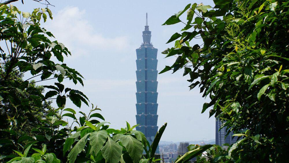 Das Taipeh 101, der einst höchste Wolkenkratzer der Welt (bis 2007), der optisch an Bambus erinnern soll.