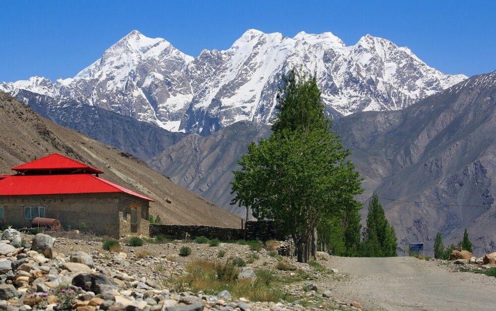 Einfahrt in den Wakhan-Korridor