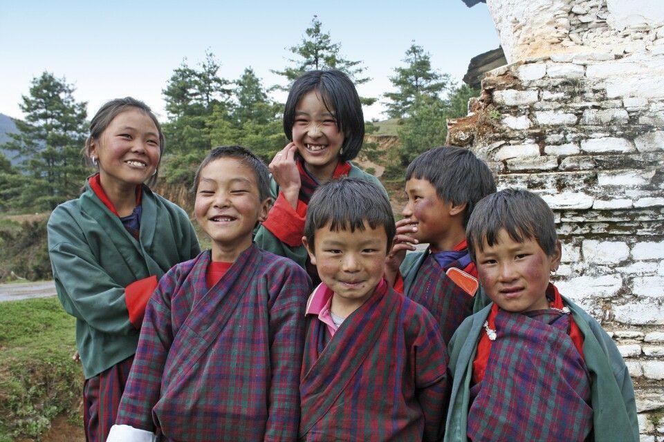 Kinder in Gantey