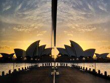 Spiegelung der Oper Sydney