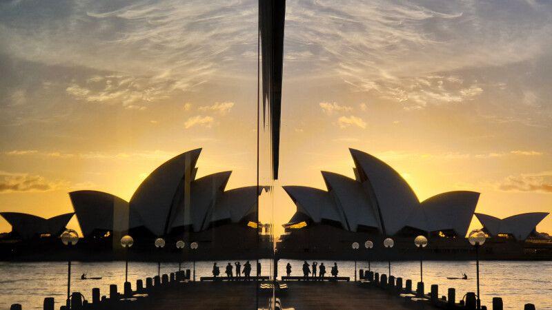 Spiegelung der Oper Sydney © Diamir