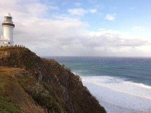 Leuchtturm an der Byron Bay