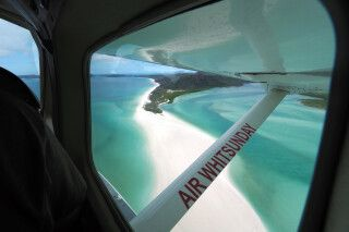 Rundflug über Whitsunday Islands