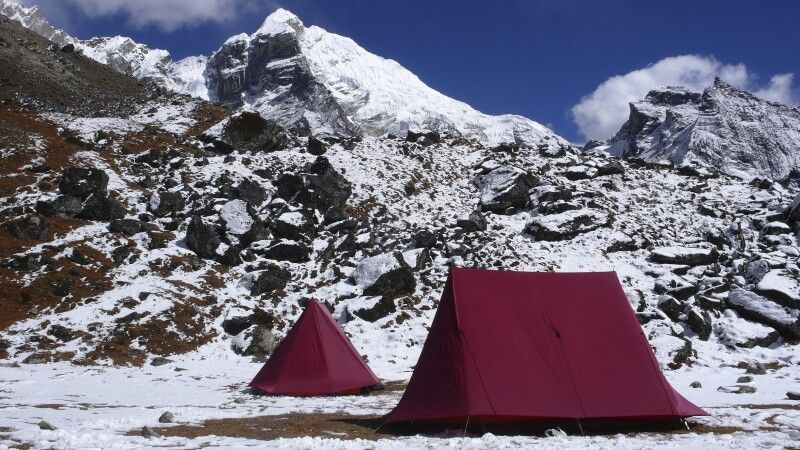 Zeltcamp am Lobuche © Diamir