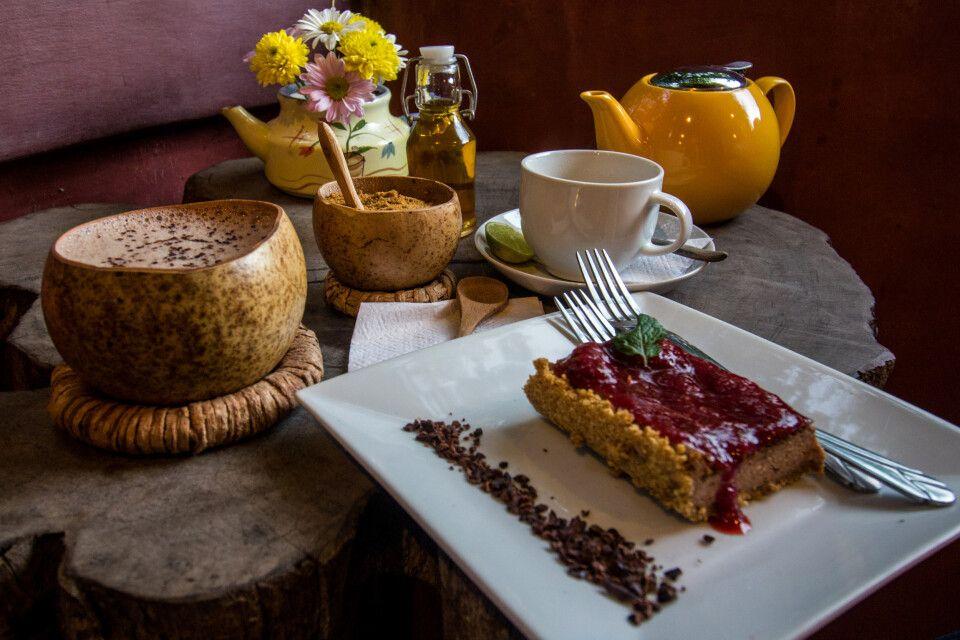 Kaffee und Kuchen nach honduranischer Art