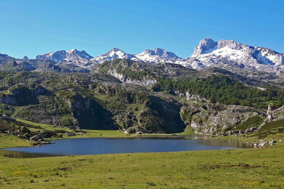 Bergpanorama in den Picos de Europa