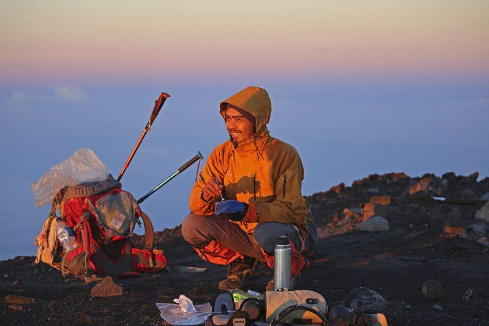 Auf dem Semeru (3676 m)