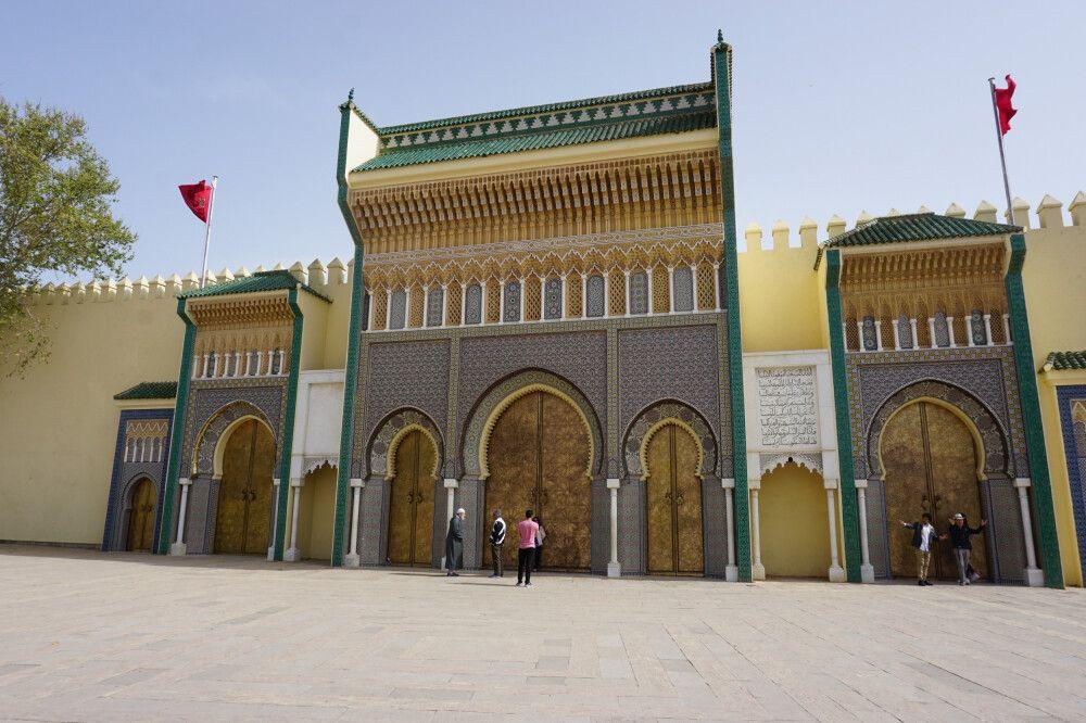Der Königspalast Dar al-Makhzen in Fés