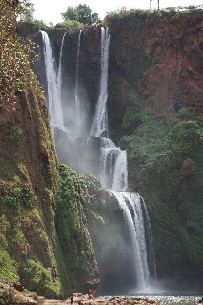 Der Ouzoud-Wasserfall – ein unglaubliches Naturspektakel inmitten Marokkos