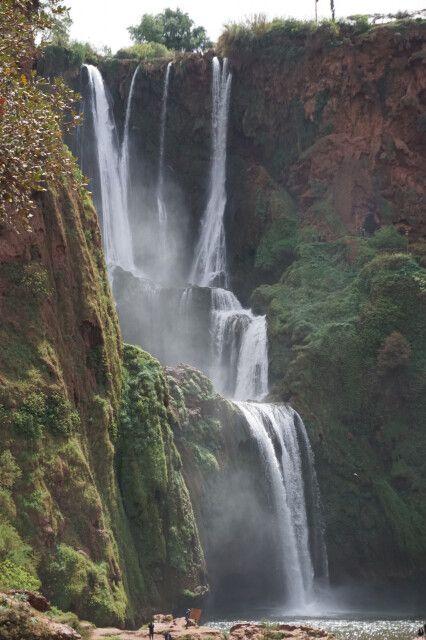 Der Ouzoud-Wasserfall - ein unglaubliches Naturspektakel inmitten Marokkos