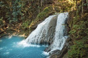 Wasserfälle in der Ochos Rio Region