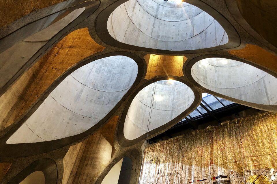 Zeitz MOCAA Museum in Kapstadt, ein alter Silo erstrahlt in neuem Glanz