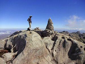 Bergspitze des Pic Boby im Andringitra Nationalpark