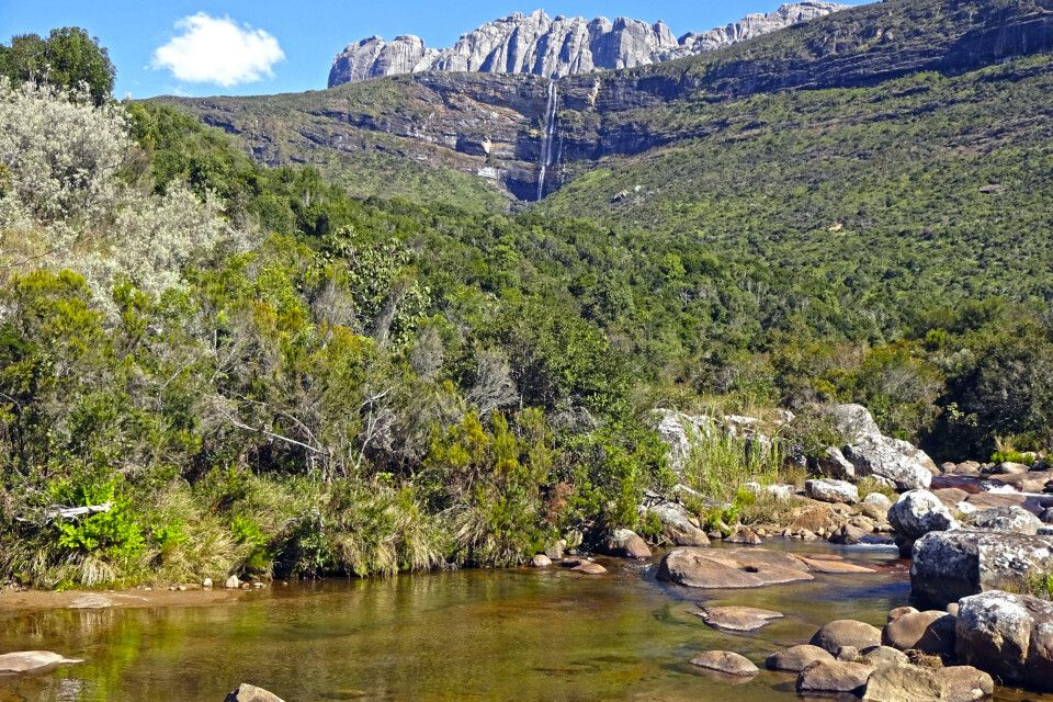 Naturlandschaft im Andringitra Nationalpark