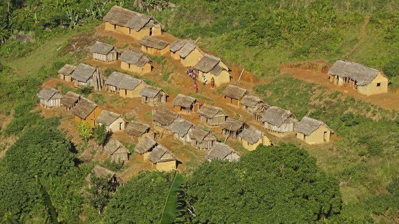 versteckte Bauerndörfer im Andringitra Nationalpark © Diamir