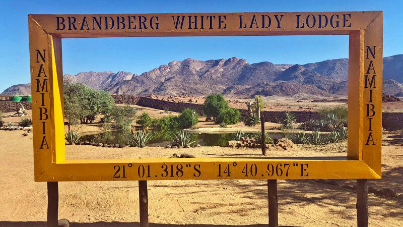 Brandberg White Lady Lodge © Diamir