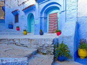 """Chefchauen die """"blaue Stadt"""" Marokkos"""