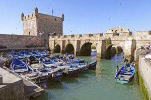 Fischerhafen von Essaouira
