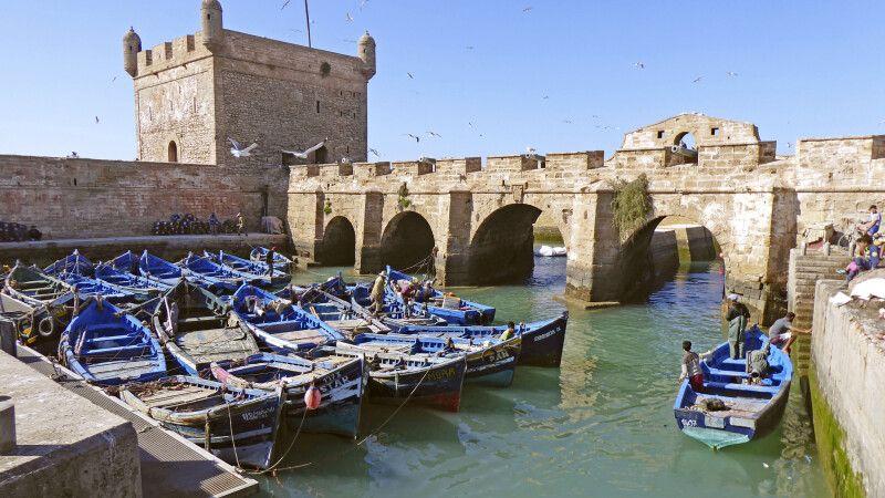 Fischerhafen von Essaouira © Diamir