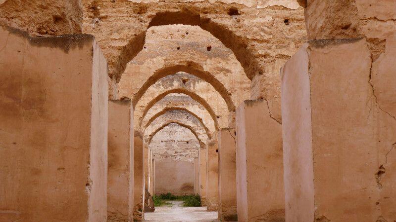 imposanter Gereidespeicher in der Königstadt Meknes © Diamir
