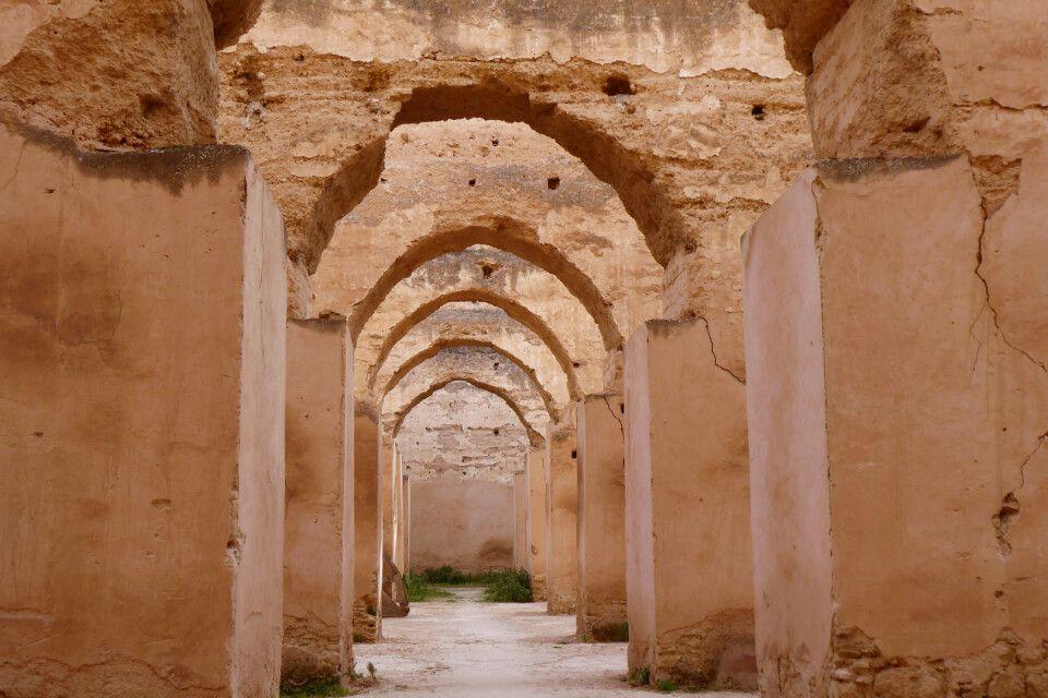 imposanter Gereidespeicher in der Königstadt Meknes