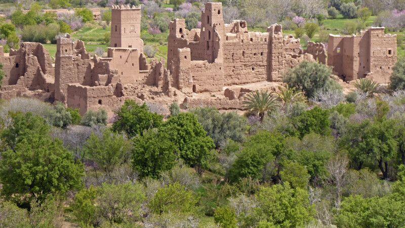 verlassene Kasbah im Draa-Tal © Diamir