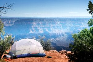 Camping am Grand Canyon North Rim, Arizona