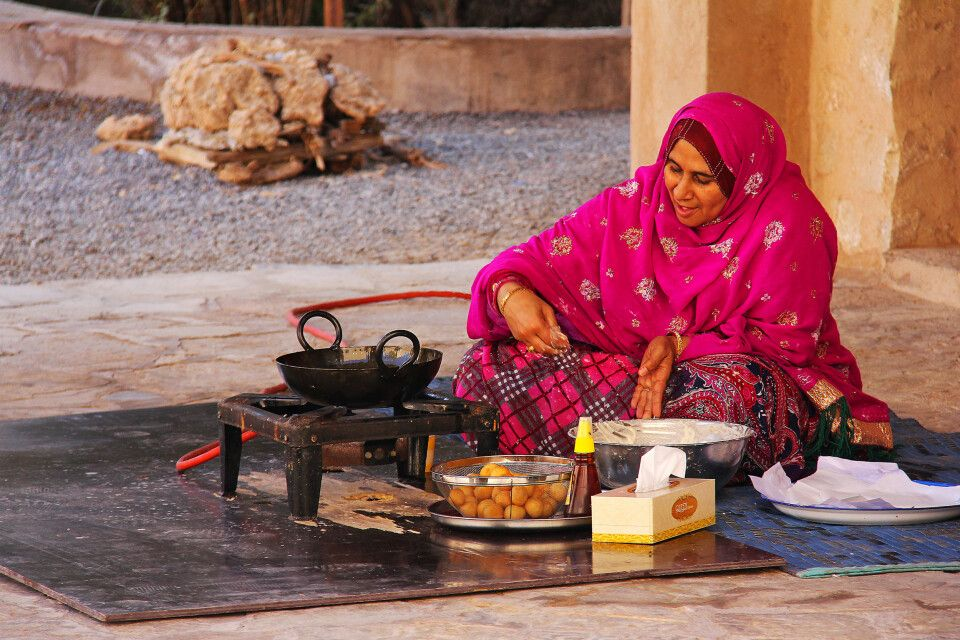 Streetfood in Nizwa