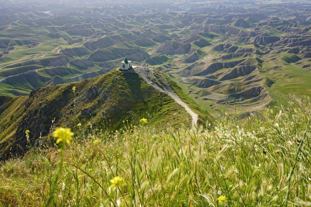 Das Mausoulem Khāled Nabi ganz im Nordosten des Landes