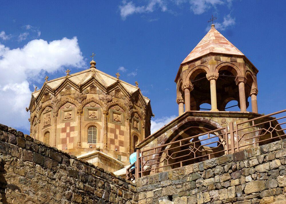 Auf iranischem Boden das armenische Kloster St. Stephanos